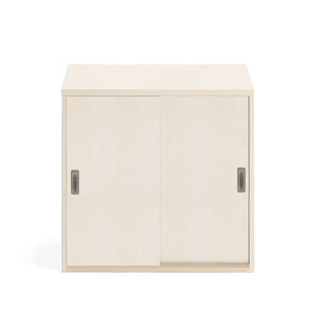 Dulap de birou modular cu uși glisante, 800x800 mm