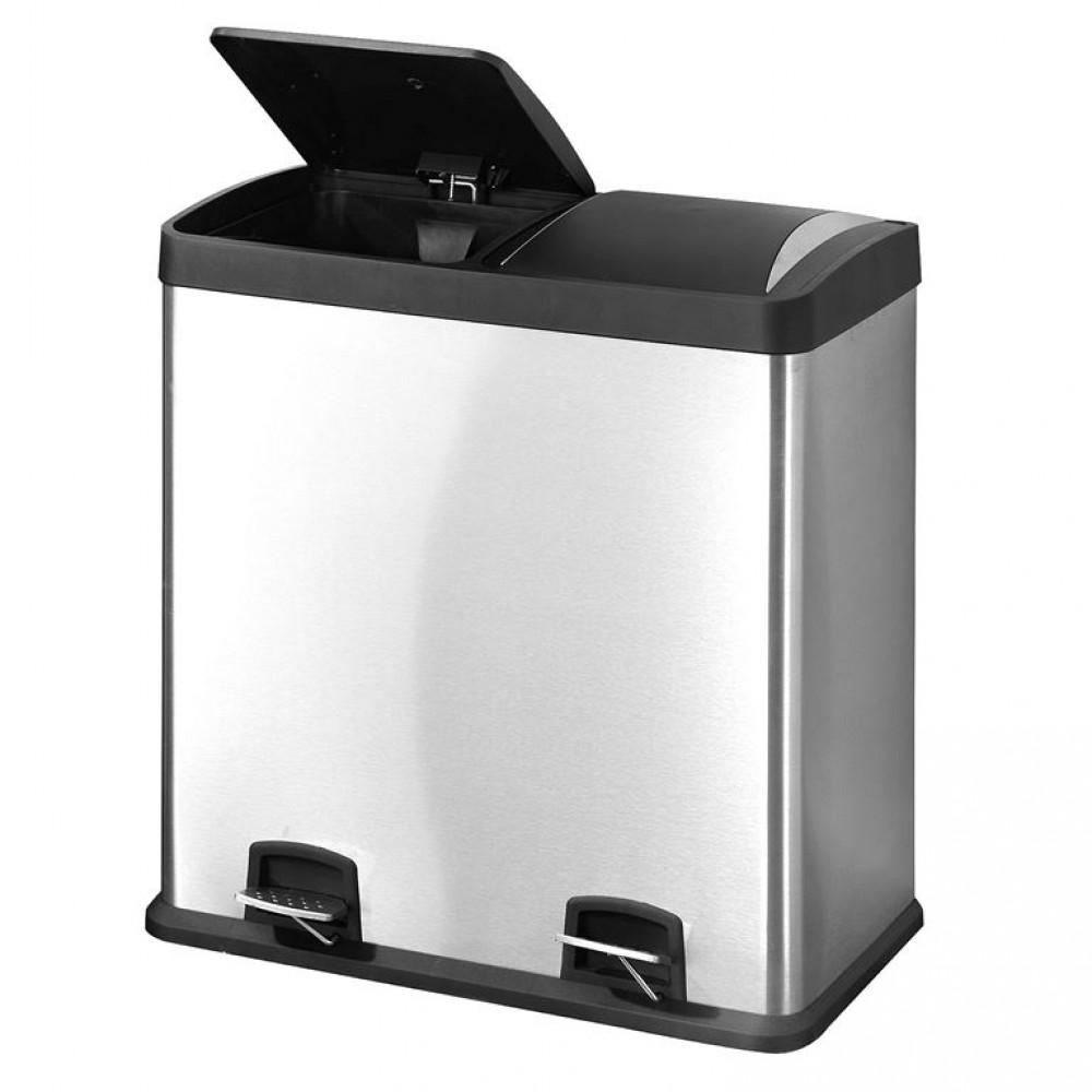 Cos de gunoi din inox - 60 L