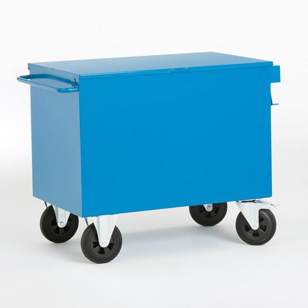 Carucior container pentru scule, 1120 x H 660 mm