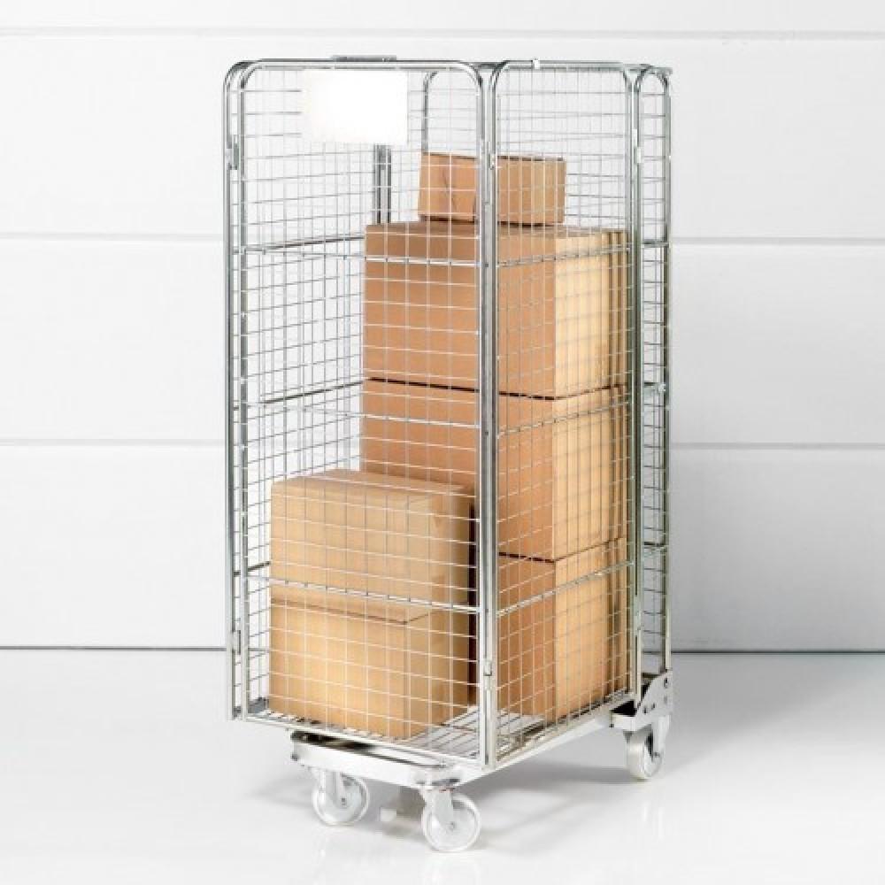 Carucior pliabil tip container, 1715x720x825 mm,