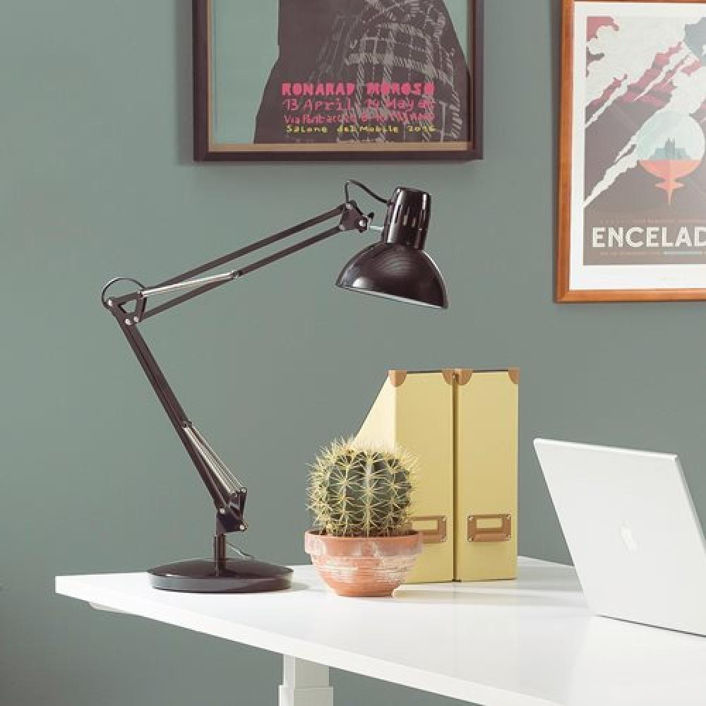 Lampă de masă pentru birou, Cosmo, neagră