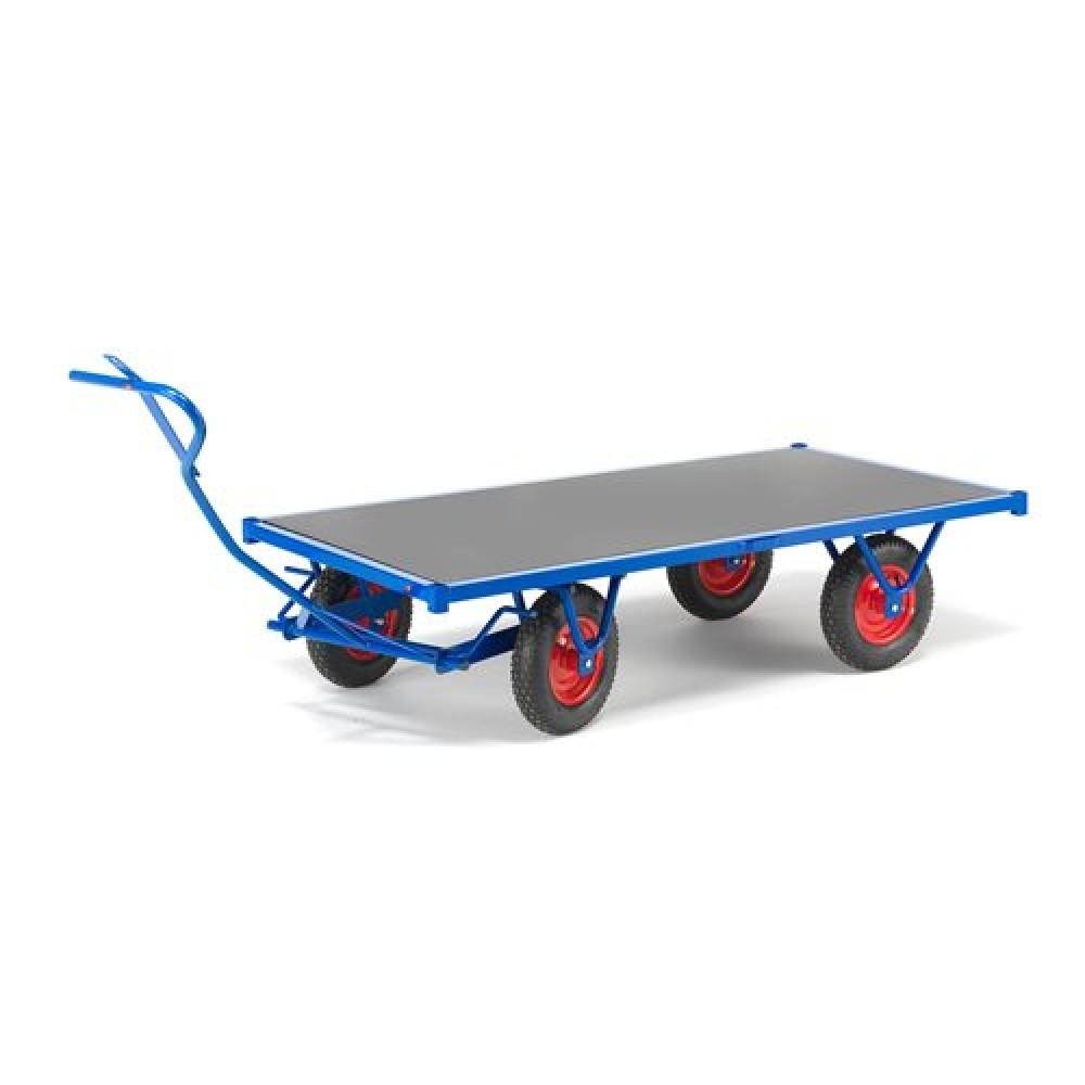 Cărucior de transport, capacitate de încărcare 1500 kg, 2000x1000 mm