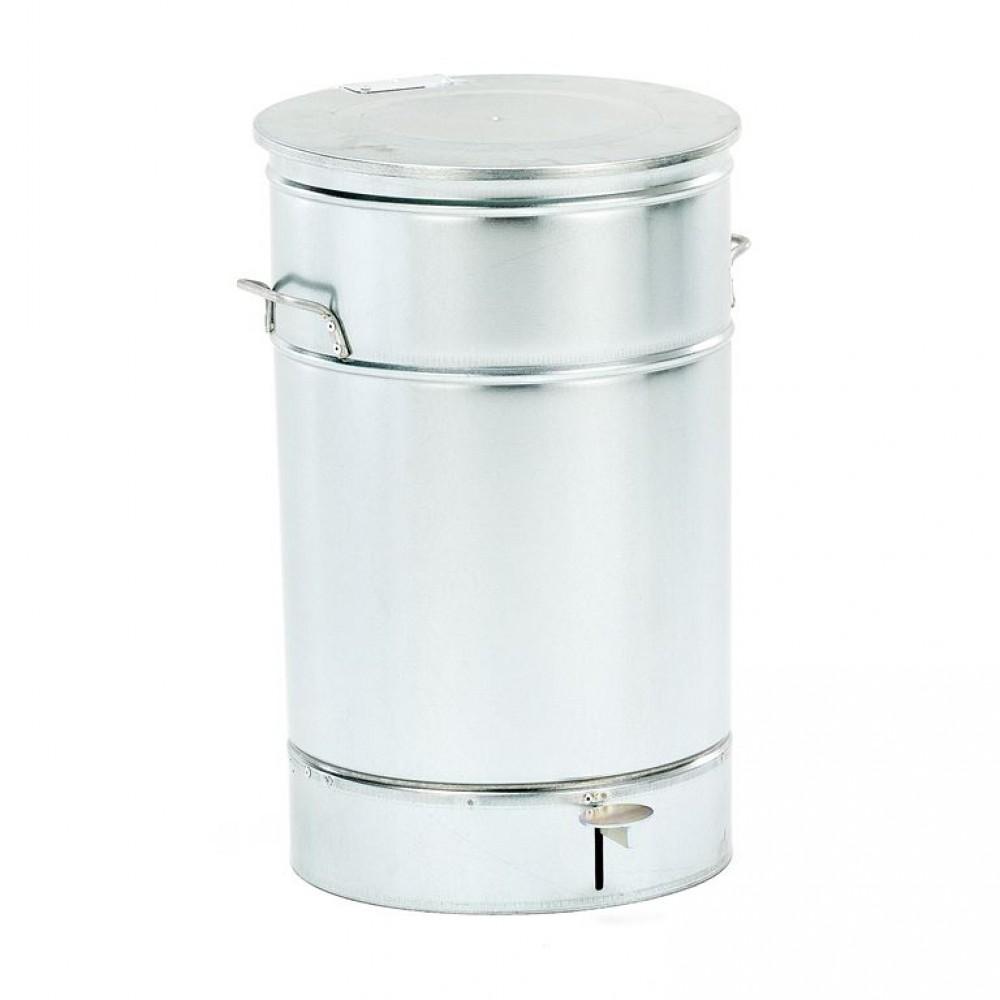 Recipient pentru deseuri, metalic, galvanizat, 70 L