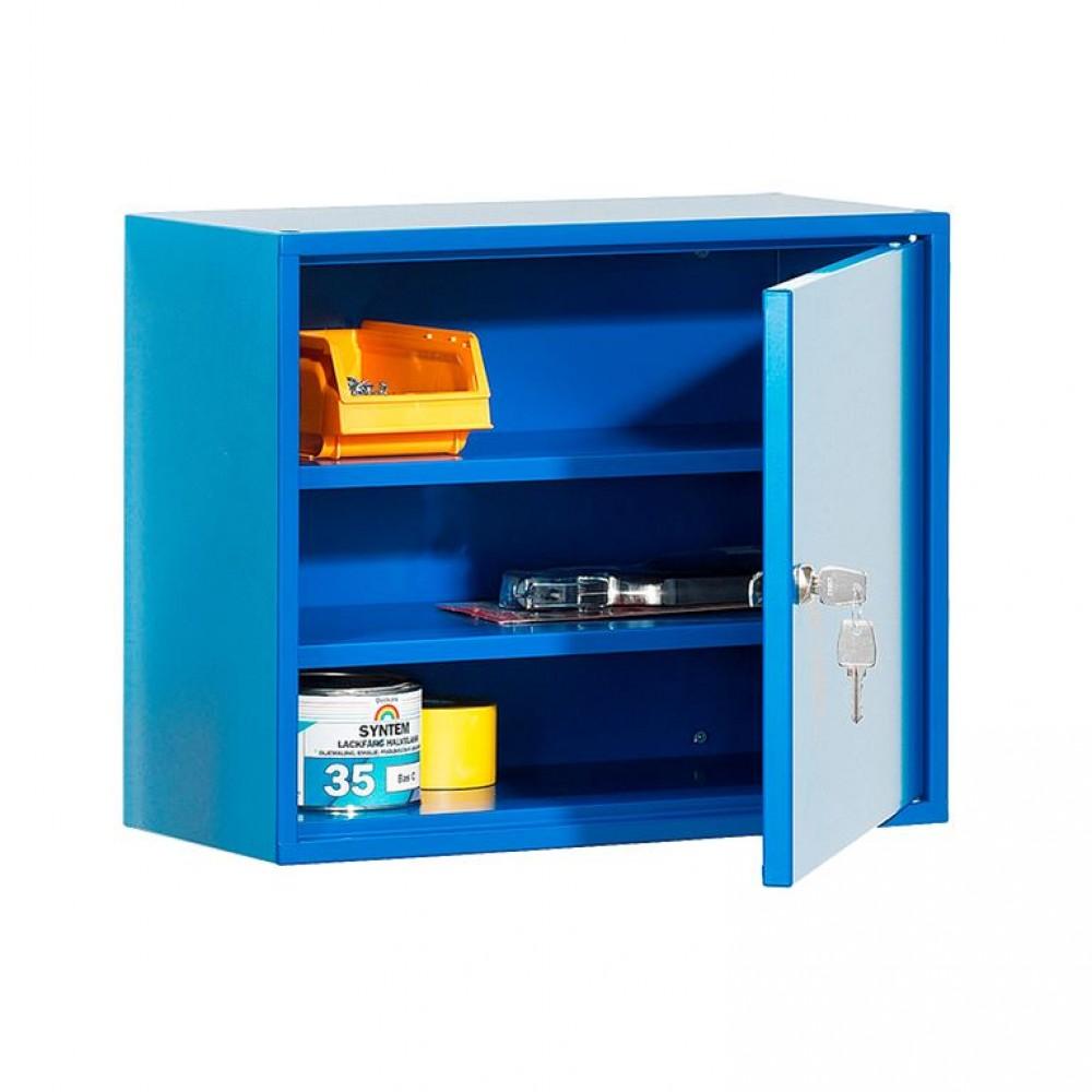 Dulap birou, l 470 x A 205 x H 380 mm, metal, negru