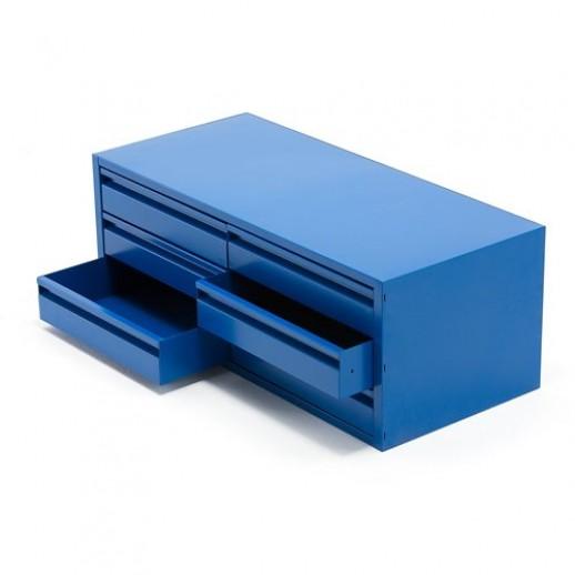 Dulap metalic tip sertar, cu 6 sertare, pentru scule, albastru