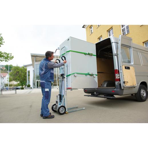 Liza electrica C400 pentru manipulat marfa pe scari-400 kg
