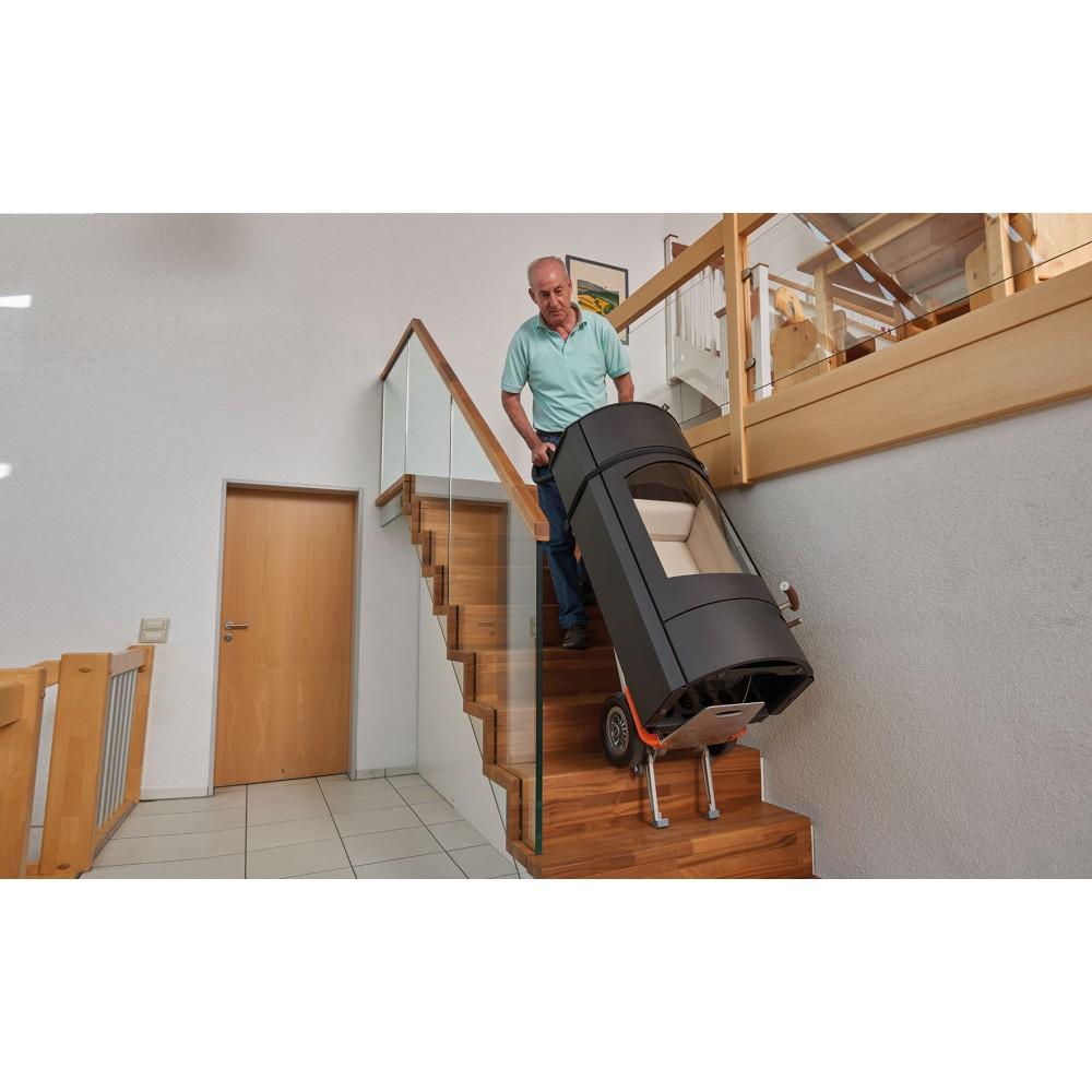 Liza electrica  CC200 pentru manipulare marfa pe scari-200 kg