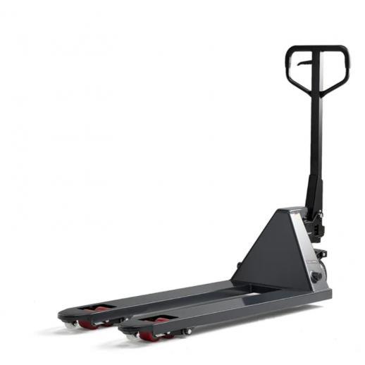 Transpalet Boost cu ridicare rapida -  2000 kg, 1150 mm, roti din PU - tandem