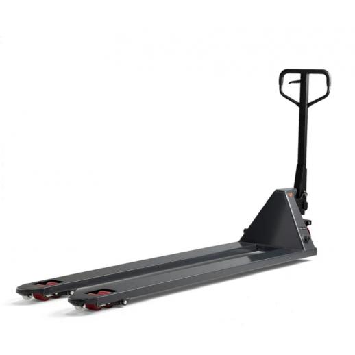 Transpalet Boost cu ridicare rapida -  2000 kg, 2000 mm, roti din PU - tandem
